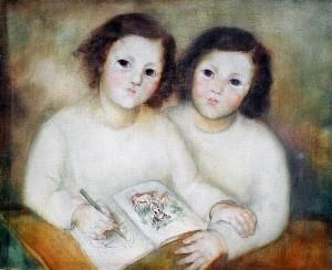 портрет на близнаците, 1939